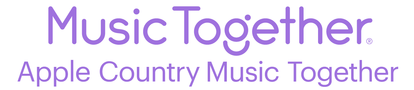 Apple Country Music TogetherThe Joy of Family Music® since 2000.